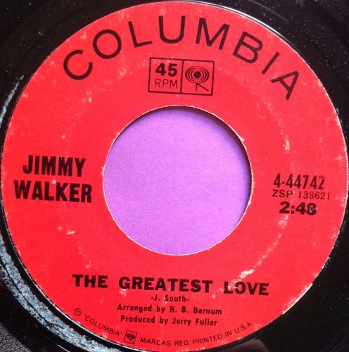 Jimmy Walker-The greatest love-Columbia E