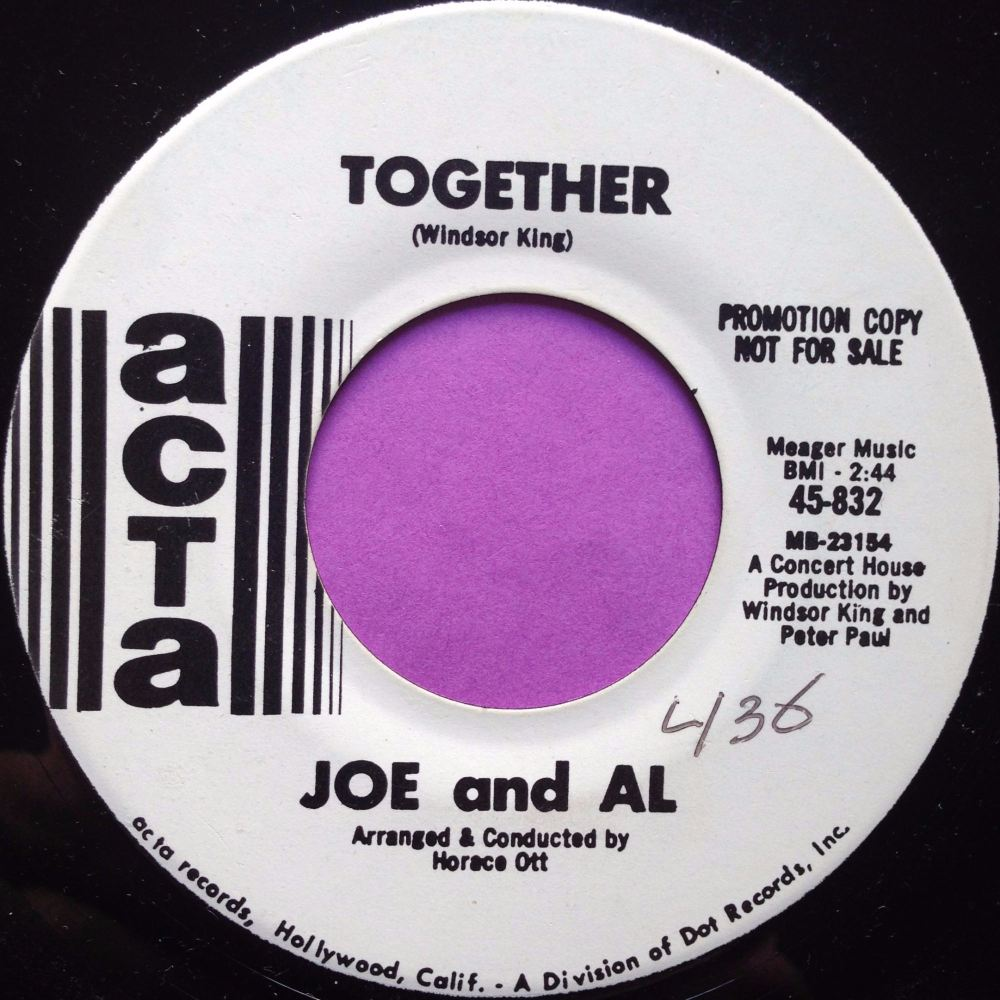 Joe and Al-Together-Acta WD E+