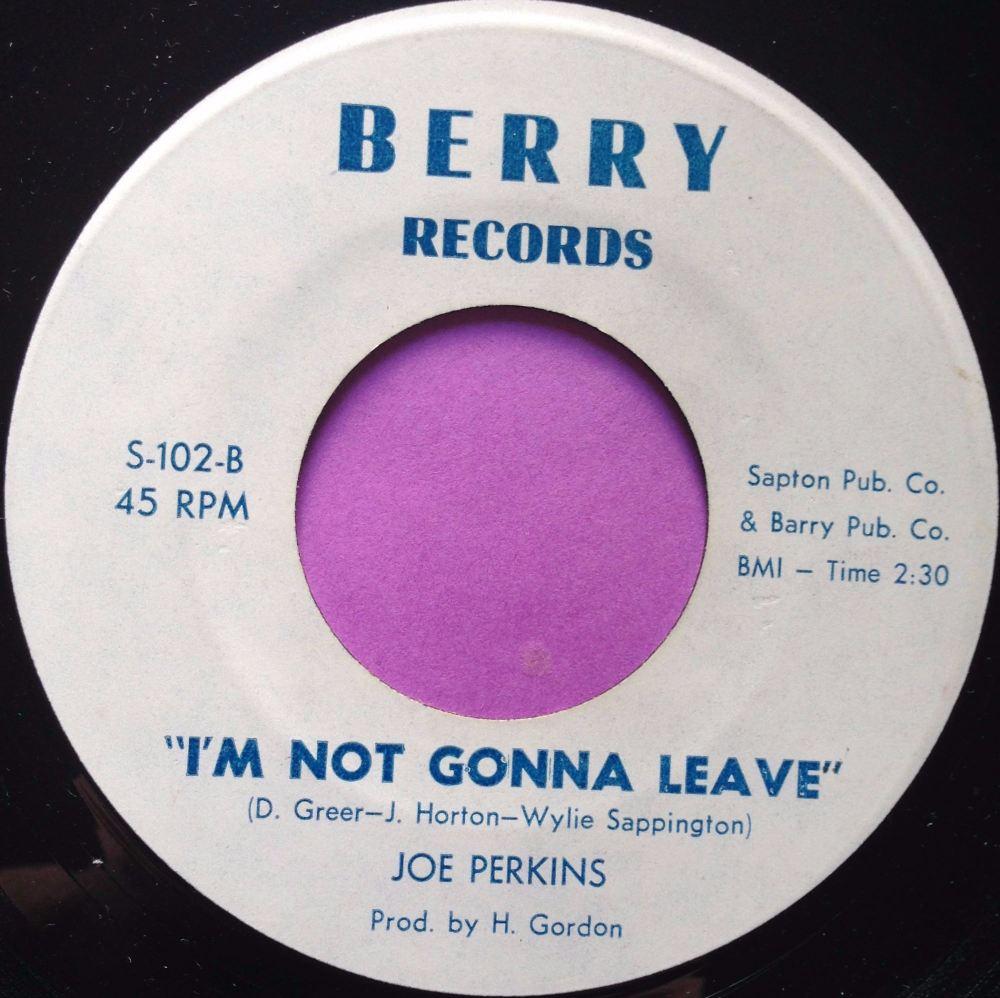 Joe Perkins-I`m not gonna leave-Berry E+