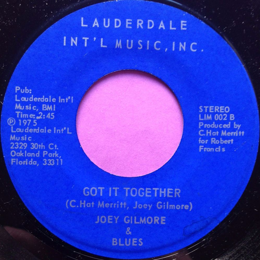 Joey Gilmore-Got it together-Lauderdale int M-