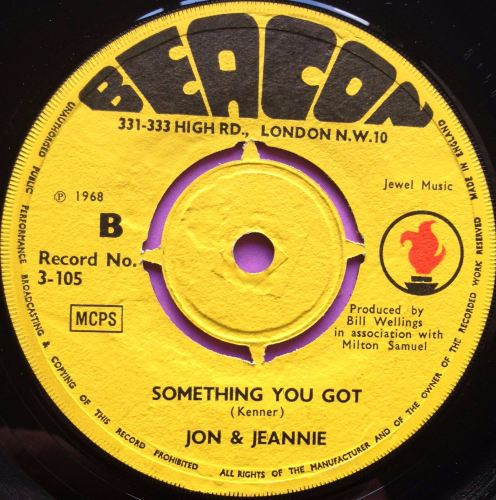 John and Jeannie - Something you got - Beacon - M-