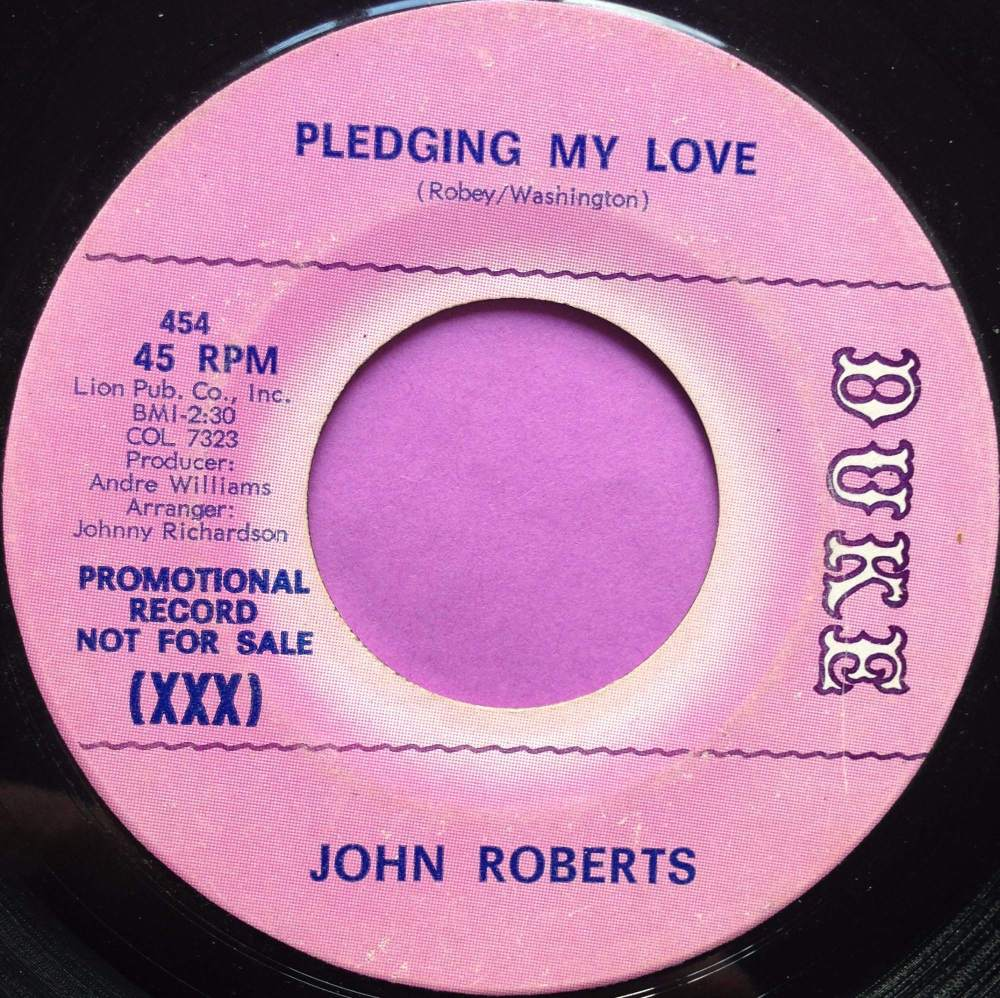 John Roberts-Pledging my love-Duke E