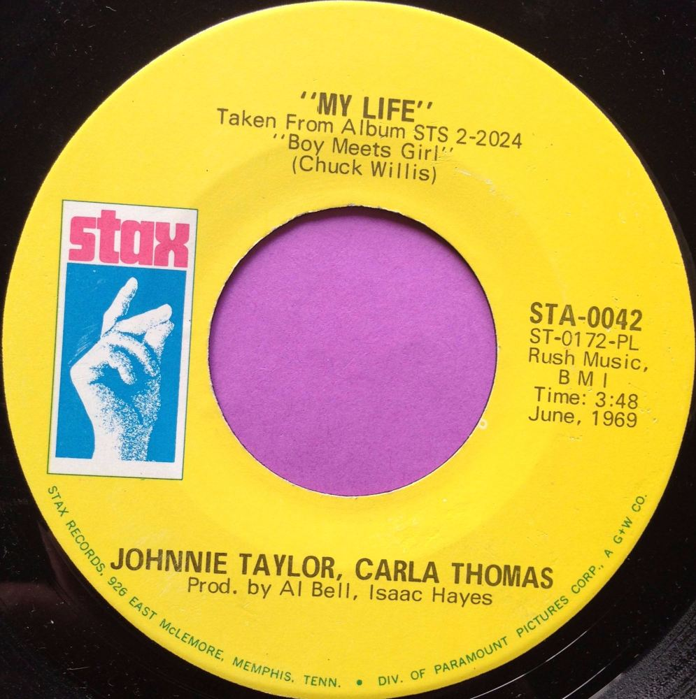 Johnnie Taylor and Carla Thomas - My life - Stax - E+