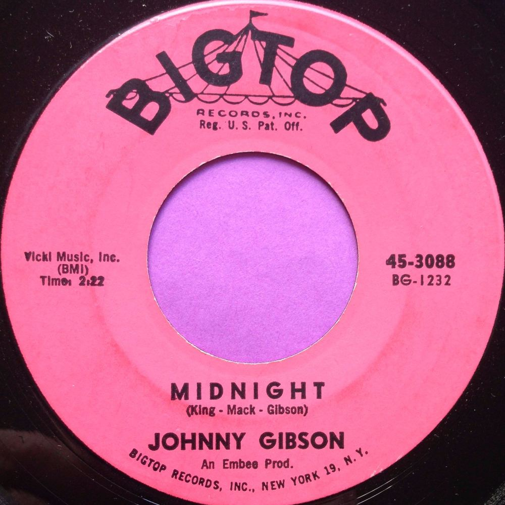 Johnny Gibson-Midnight-Bigtop E-