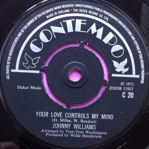 Johnny Williams - Your love controls my mind - Contempo - M-