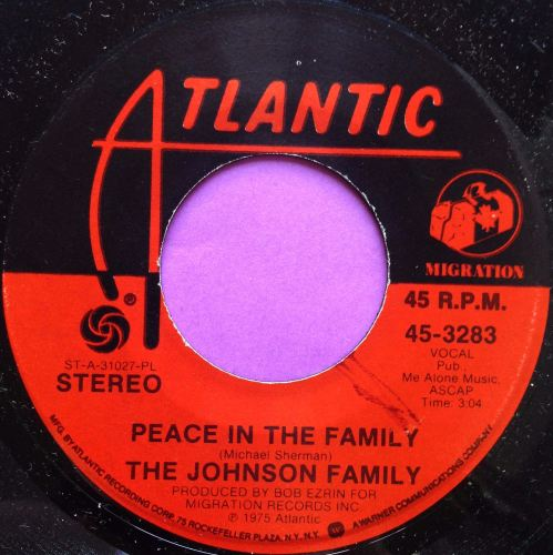 Johnson Family-Peace in the family-Atlantic E