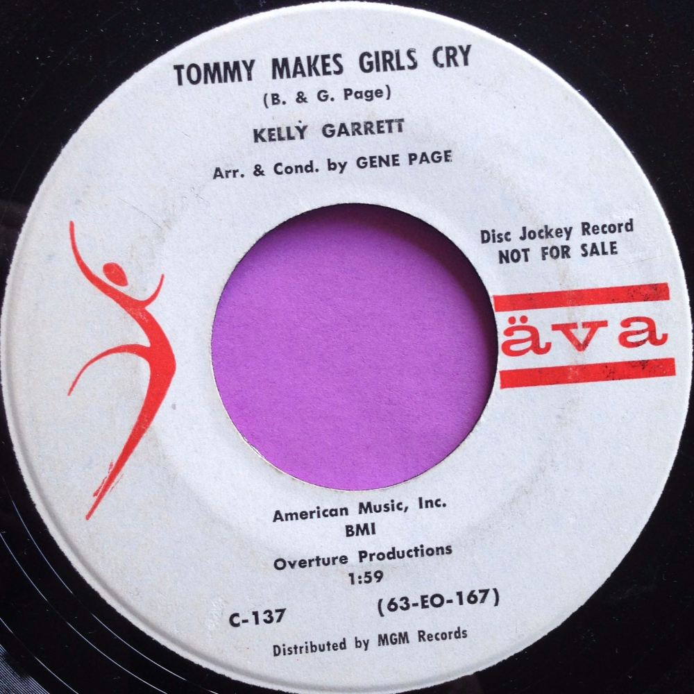 Kelly Garrett - Tommy Makes Girls Cry - AVA WD - E+