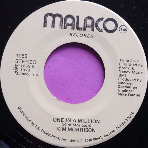 Kim Morrison-One in a million-Malaco E+