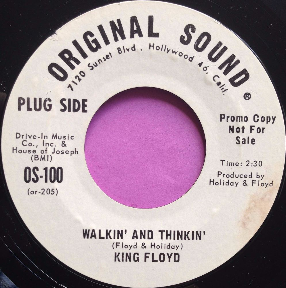 King Floyd- Walkin' and thinkin'- Original WD E+