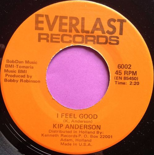 Kip Anderson-I feel good-Everlast E+
