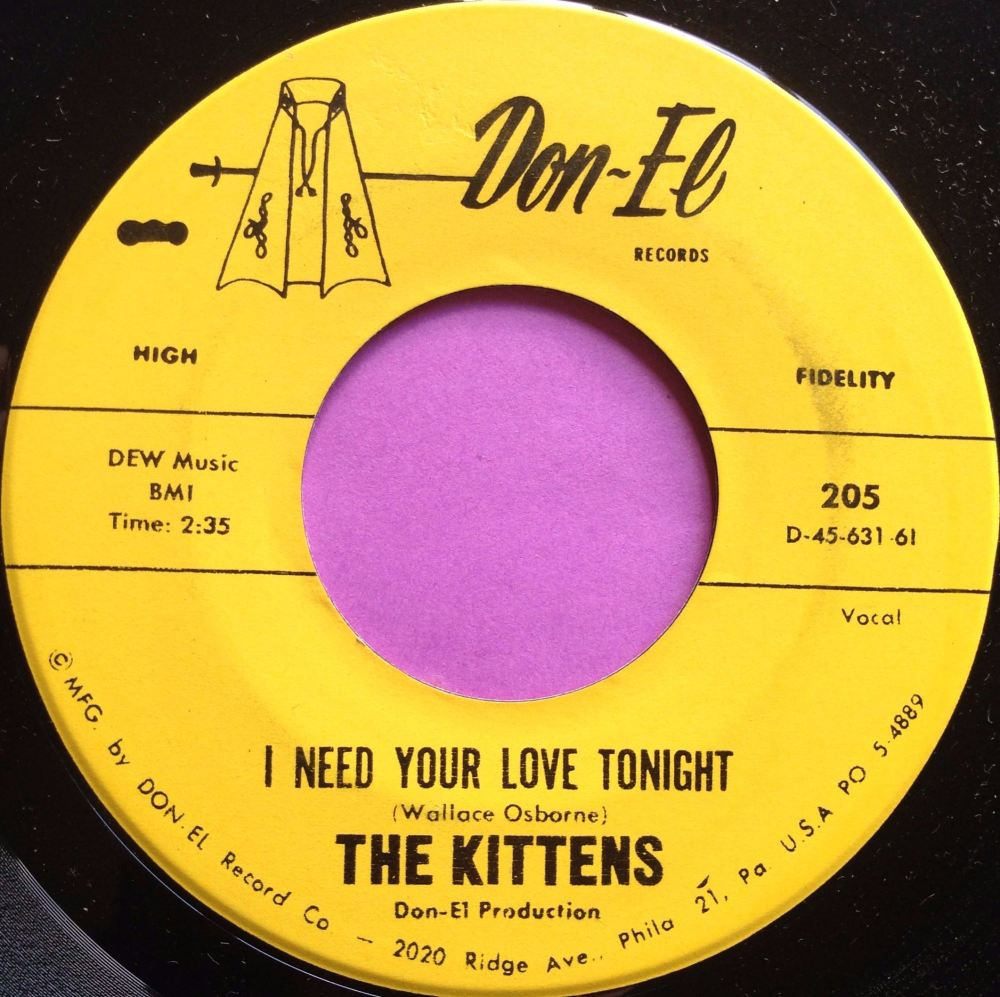 Kittens-I need your love tonight-Don-el E+