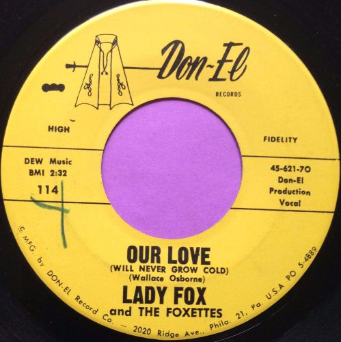Lady Fox-Our love-Don-el E+