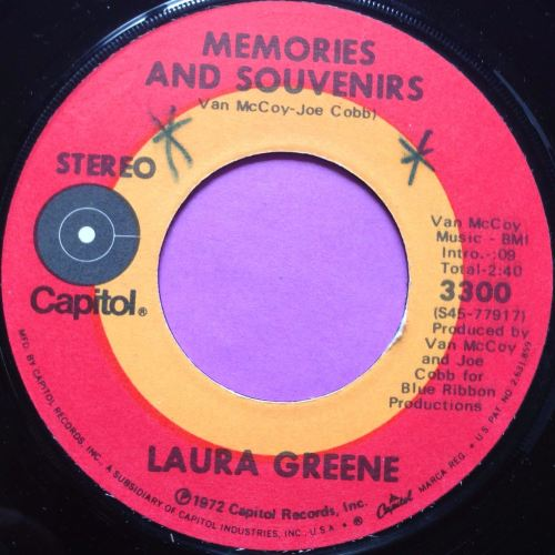 Laura Greene-Memories and souvenirs-Capitol E+ wol