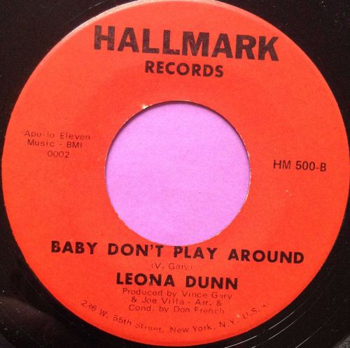 Leona Dunn-Baby don`t play around-Hallmark E+