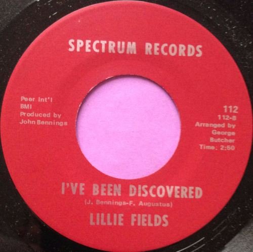 Lillie Fields-I`ve been discovered-Spectrum M-