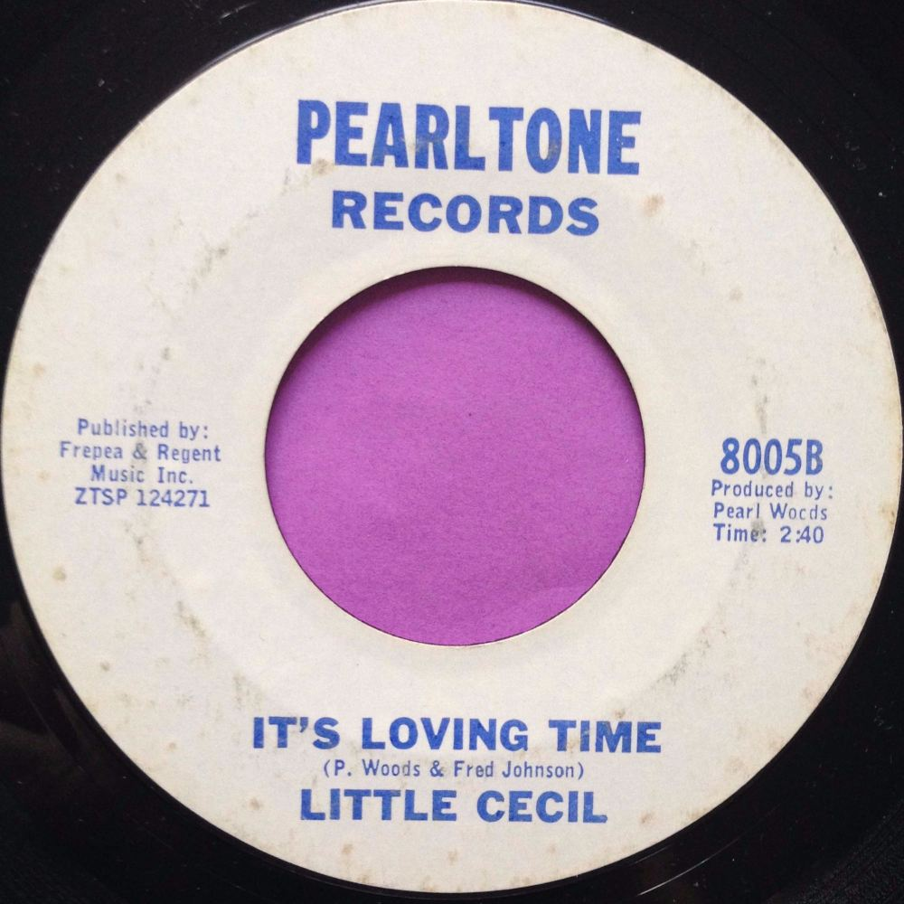 Little Cecil - It's loving time - Pearltone - E