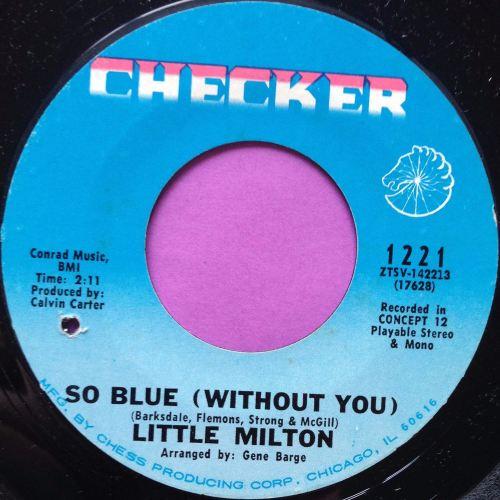 Little Milton-So blue-Checker E+