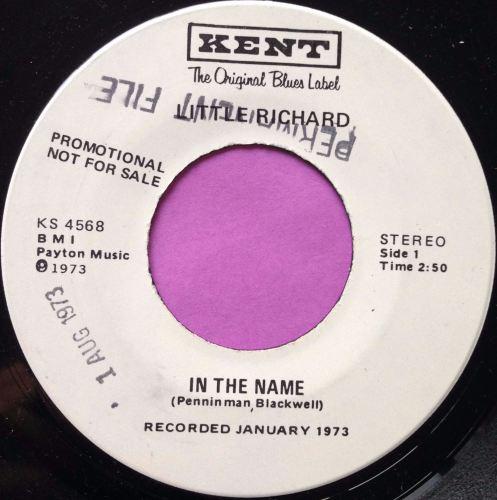 Little Richard-In the name-Kent WD M-
