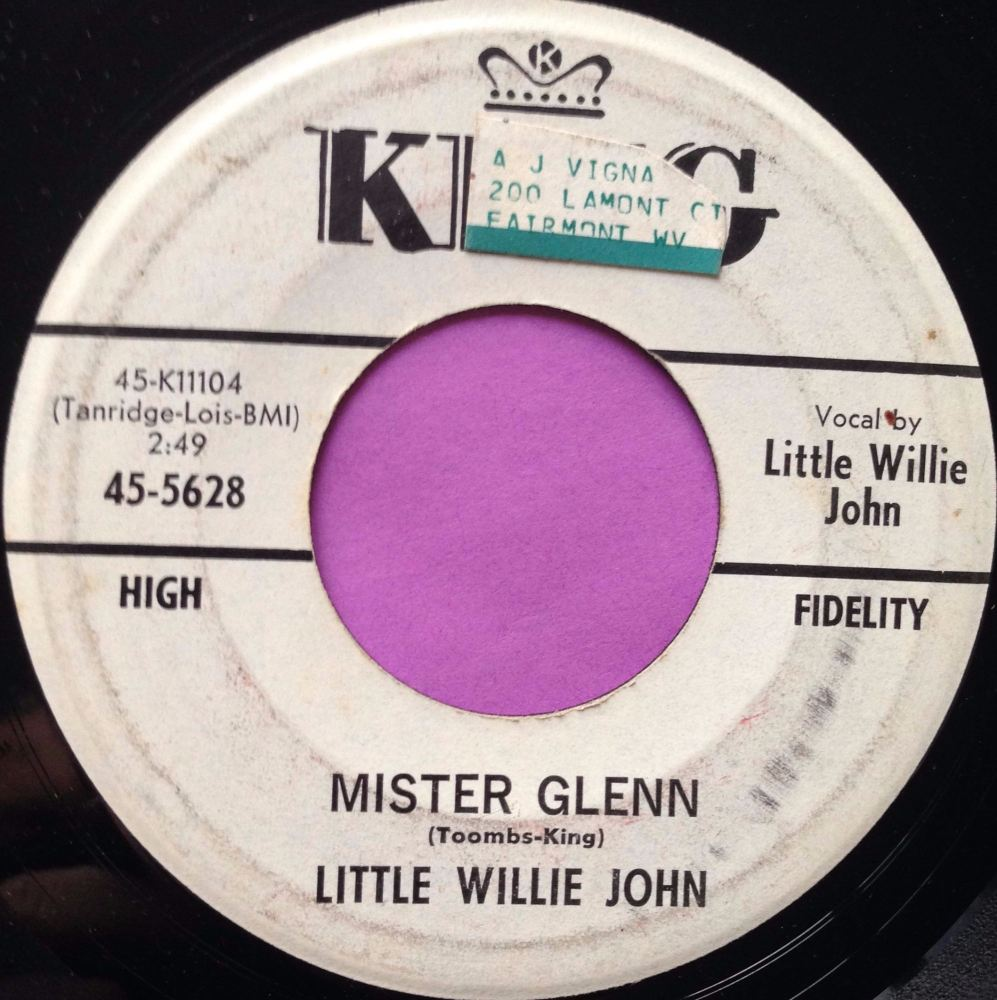 Little Willie John- Mister Glenn- King E-