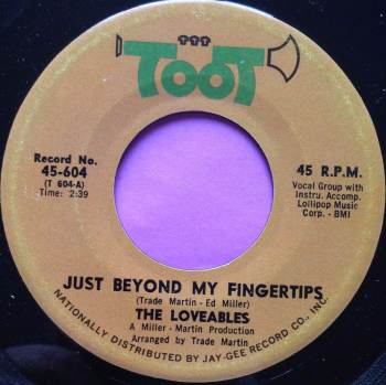 Lovables-Just beyond my finger tips-Toot E+