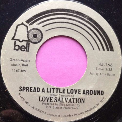 Love Salvation-Spread a little love around-Bell M-