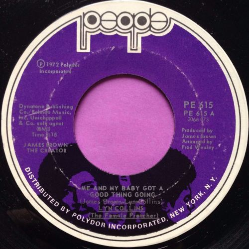 Lyn Collins-Me and my baby...-People E