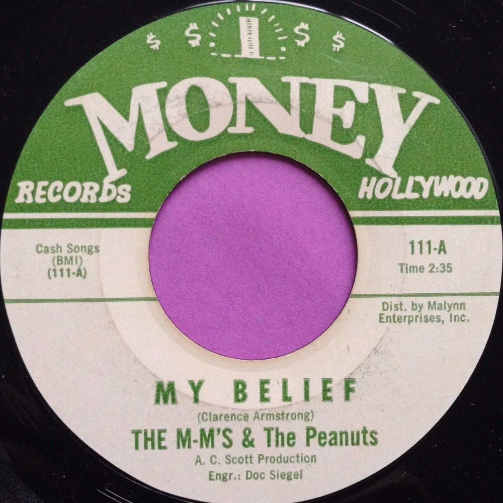 M-M`s & Peanuts-My belief-Money E