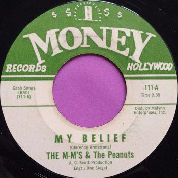 M-M`s & Peanuts-My belief-Money E