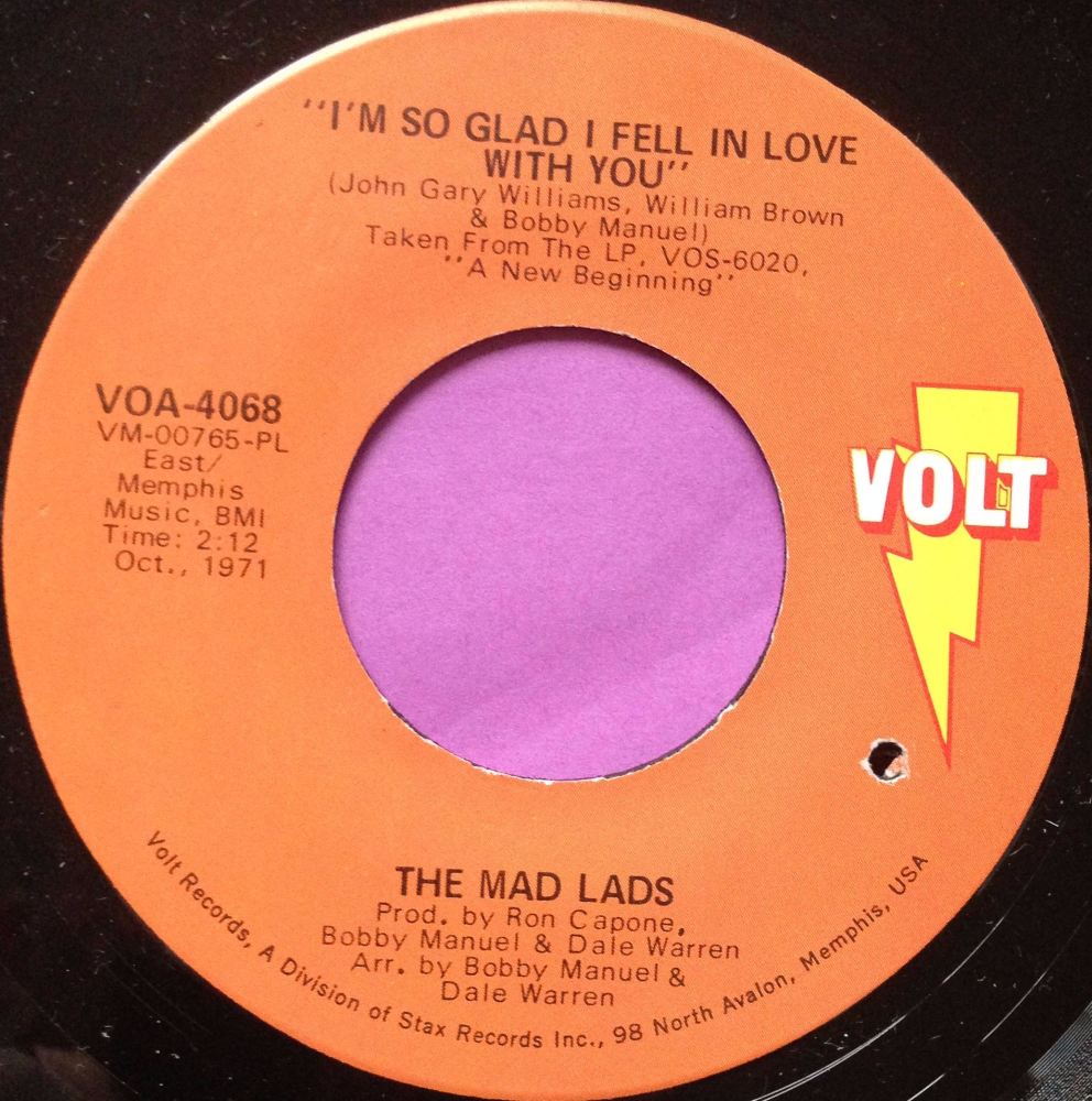 Mad Lads-I`m so glad I fell in love-Volt E+