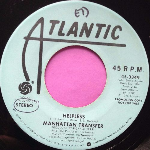 Manhattan Transfer-Helpless-Atlantic WD M-
