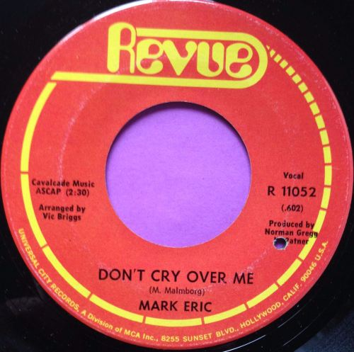 Mark Eric - Don't cry over me - Revue - E+