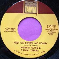 Marvin and Tammi-Keep on lovin` me honey-Tamla E+