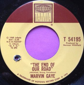 Marvin Gaye-The end of our road""