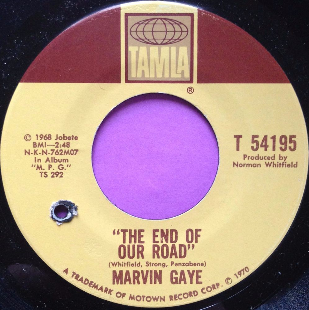 Marvin Gaye-The end of our road