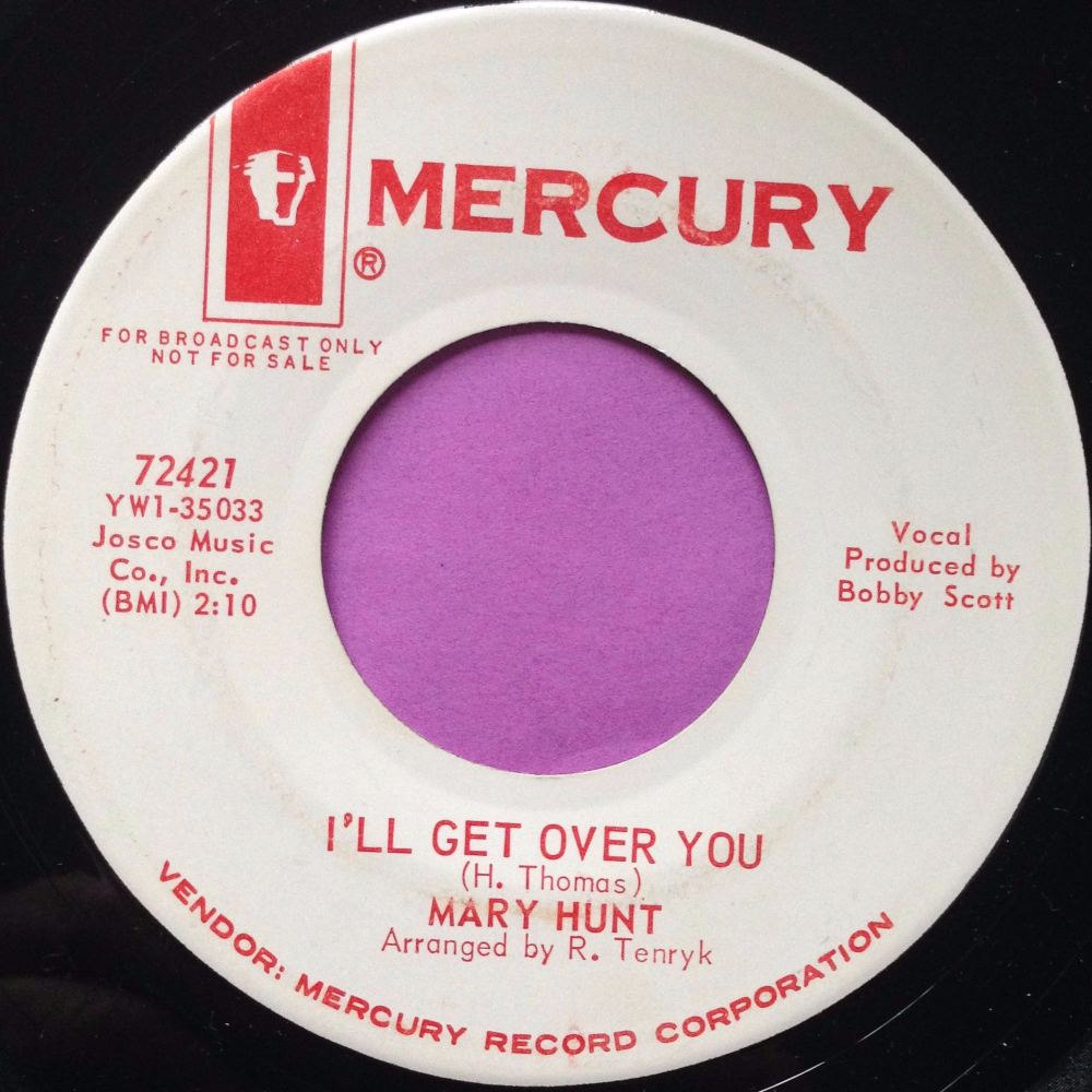 Mary Hunt- I'll get over you- Mercury WD E+