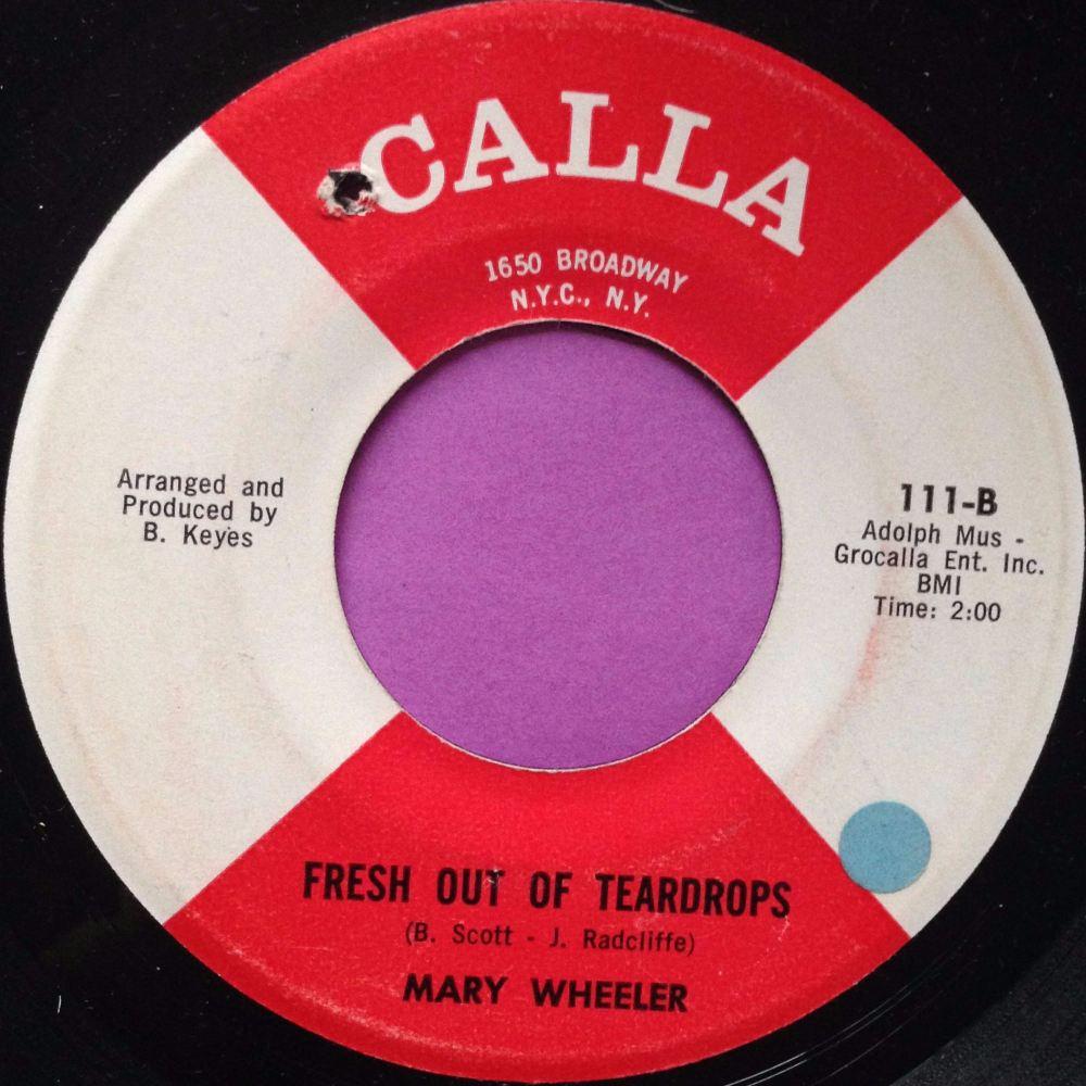 Mary Wheeler-Fresh out of tears-Calla E+
