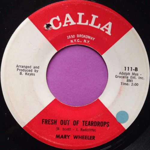Mary Wheeler-Fresh out of tears-Calla E+
