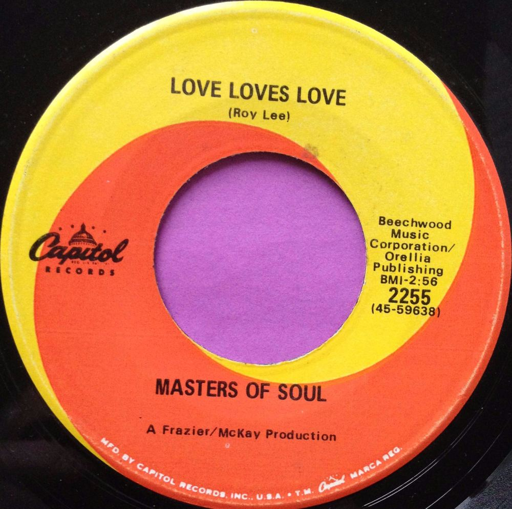 Masters of Soul- Love loves love- Capitol E+