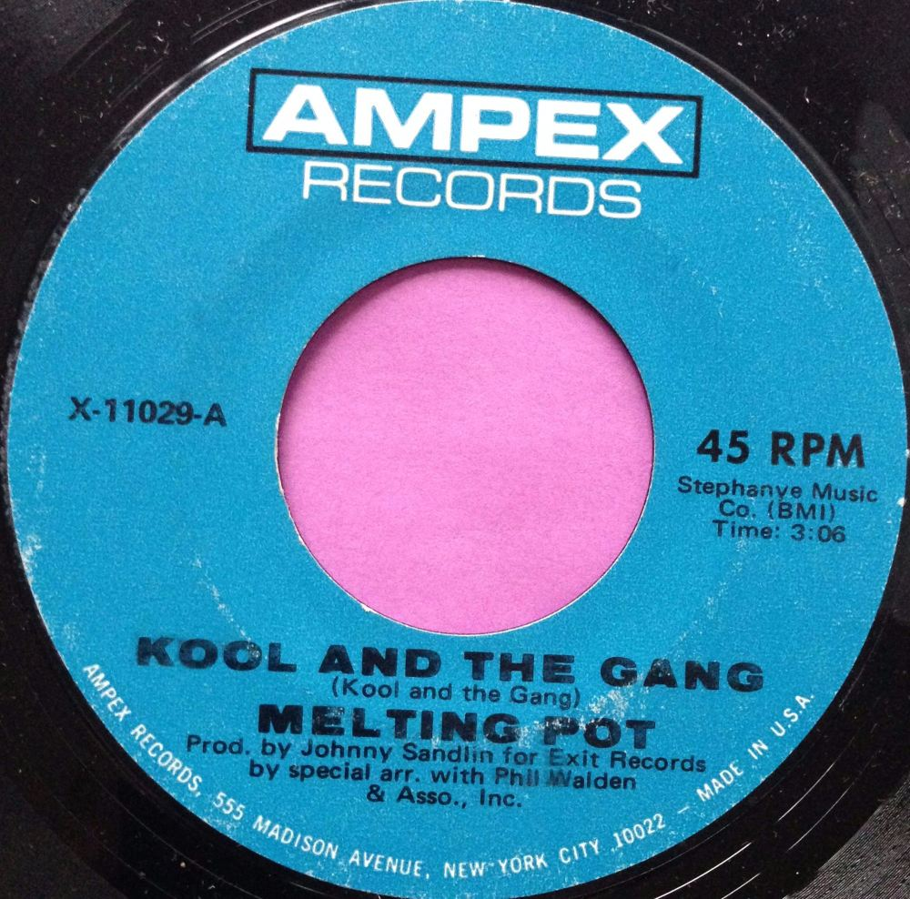 Melting Pot-Kool and the gang-Ampex M-