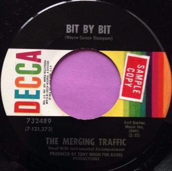 Merging Traffic-Bit by bit-Decca E+