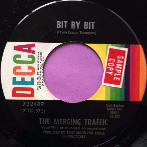 Merging Traffic-Bit by bit-Decca E+