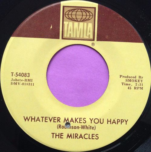 Miracles-Whatever makes you happy-Tamla M-
