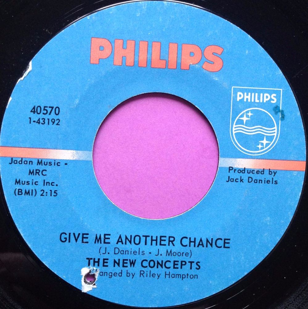 New Concepts-Give me another chance-Phillips E+