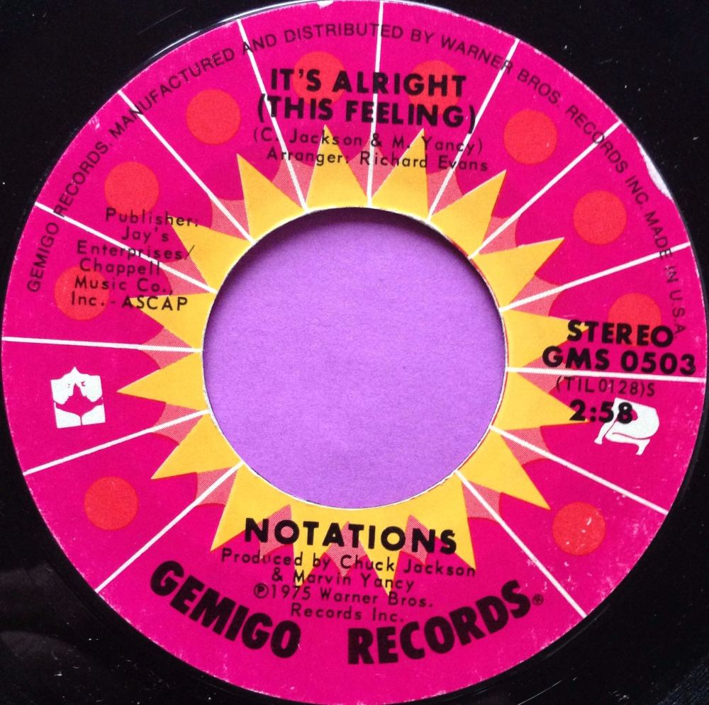 Notations - Iti's alright - Gemigo - E+