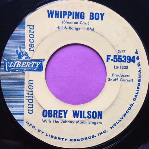 Obrey Wilson-Whipping boy-Liberty vg+