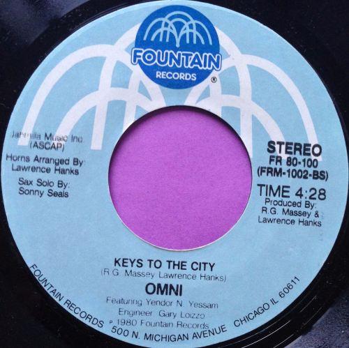 Omni-Keys to the city-Fountain E+