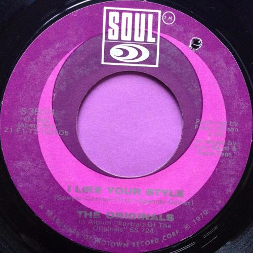 Originals - I like your style - Soul - E+