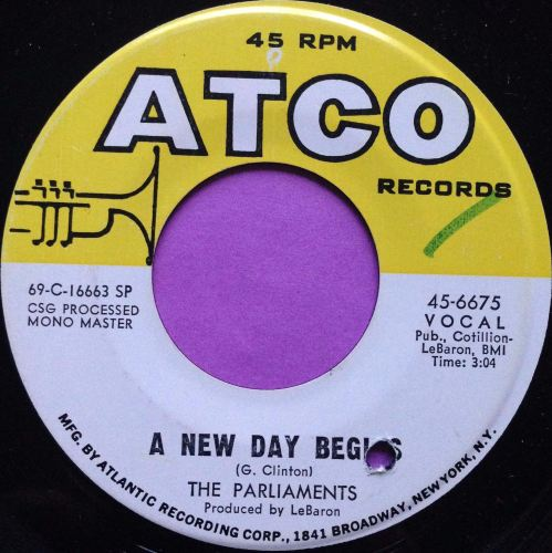 Parliments-A new day begins-Atco M-