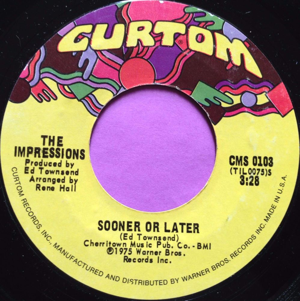 Impressions-Sooner or later-Curtom E+