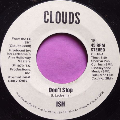 Ish-don't stop-Clouds WD E+